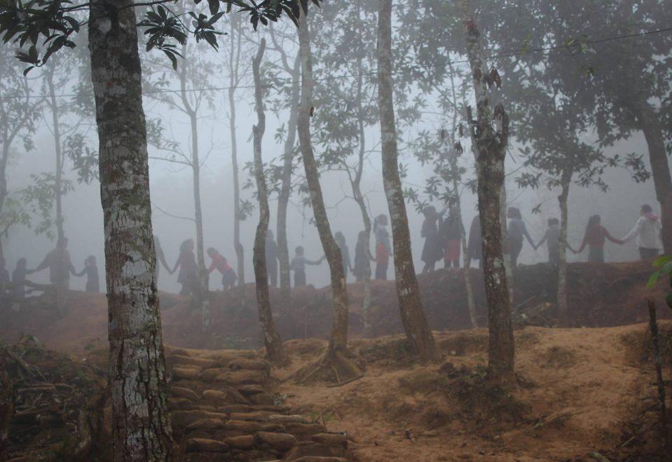 Maya Morning circle